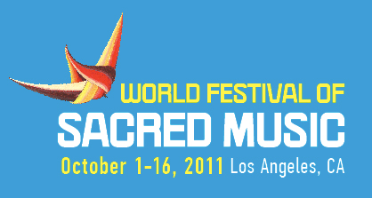 World Festival of Sacred Music Logo