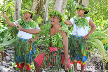 performance group from the  Pacific island of Tuvalu to perform at UCLA