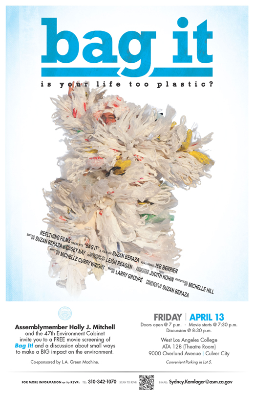 Bag It Screening Poster