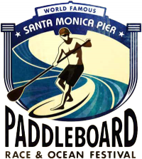 Santa Monica Pier Paddleboard Race &amp; Ocean Festival Logo