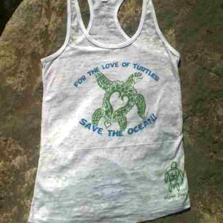 Limited Edition Honu Yoga Heal the Bay Shirt