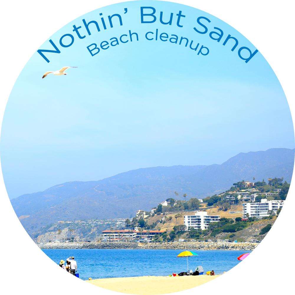 Heal the Bay's monthly Nothin' But Sand Beach Cleanup is weekend fun for the whole family!