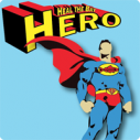 heal the bay hero superman earth day month donate vounteer clean beach