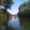 Kayaking down the LA River with LA Conservation Corps