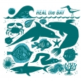 limited edition heal the bay earth month hero t-shirts Tim Biskup ocean animals