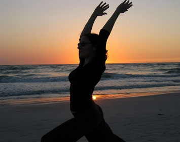 Yoga beach santa monica los angeles heal the bay member benefits