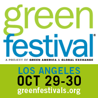 Green Festival Logo, LA Green Festival