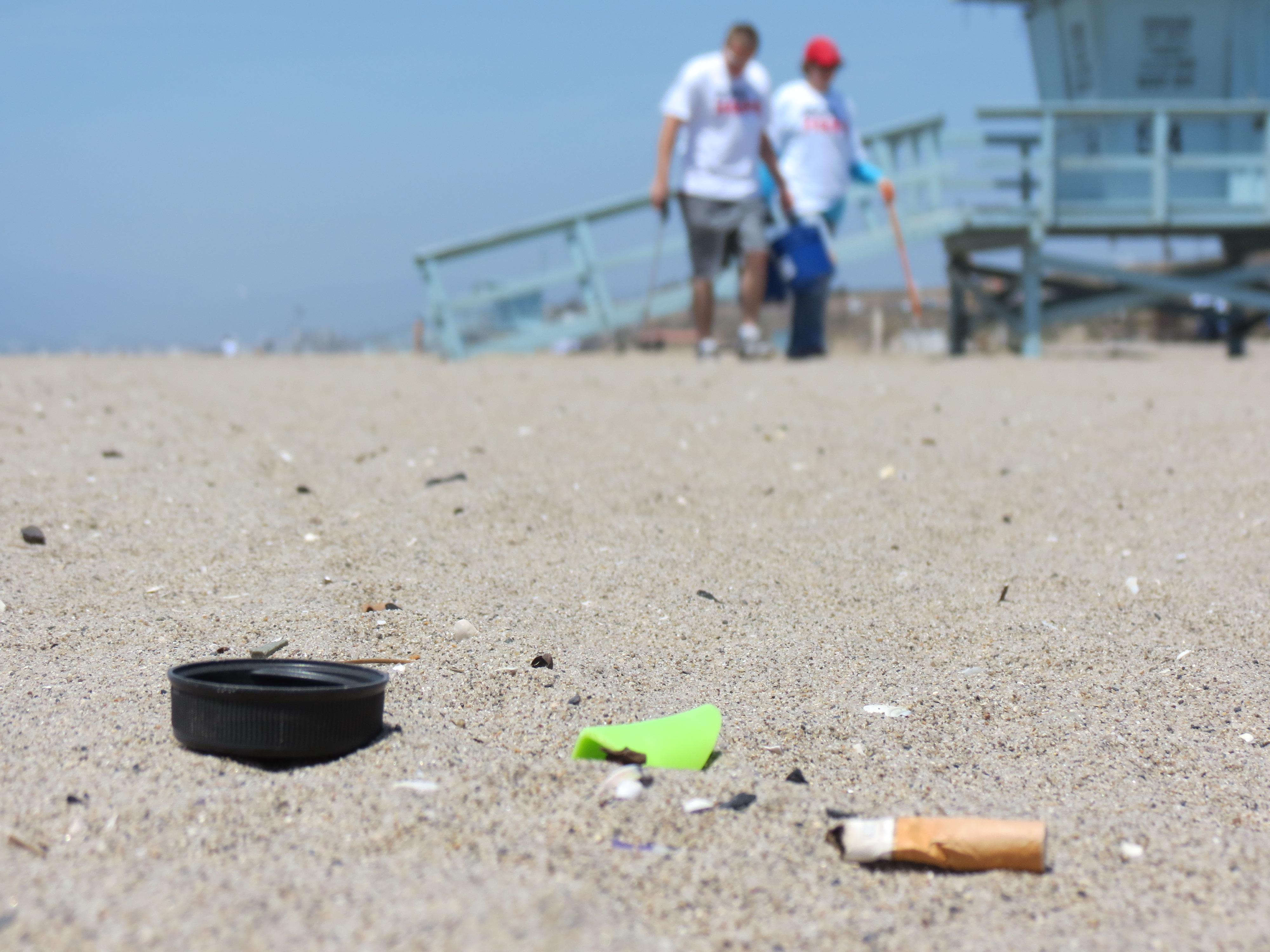 beach cleanup heal the bay ocean pollution environment stanford surfing