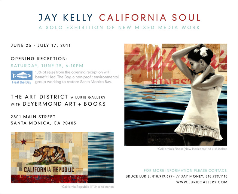 Third Party Event: Jay Kelly California Soul Invitation