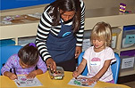 Children's art & crafts at the Aquarium