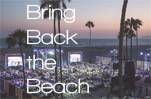Bring Back the Beach 2016 Heal the Bay Santa Monica sunset palm trees