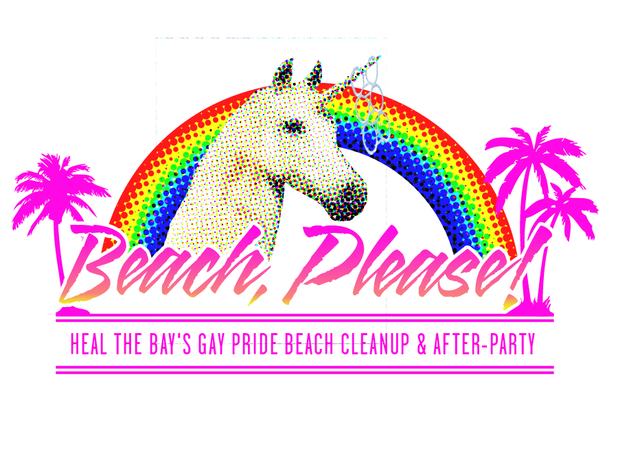 Heal the Bay's LGBT pride weekend beach cleanup