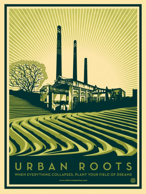 Shepard Fairey Urban Roots