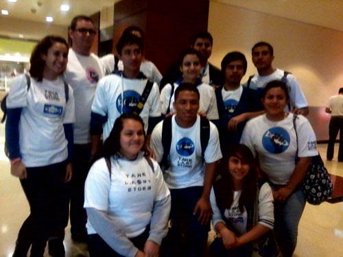 Apex Students at MS4 Hearing