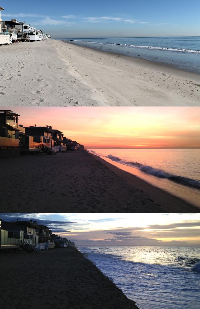 King Tides at Carbon Beach January 8-10 2013