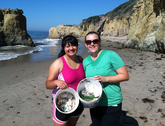 Heal the Bay Coastal Cleanup Day Los Angeles