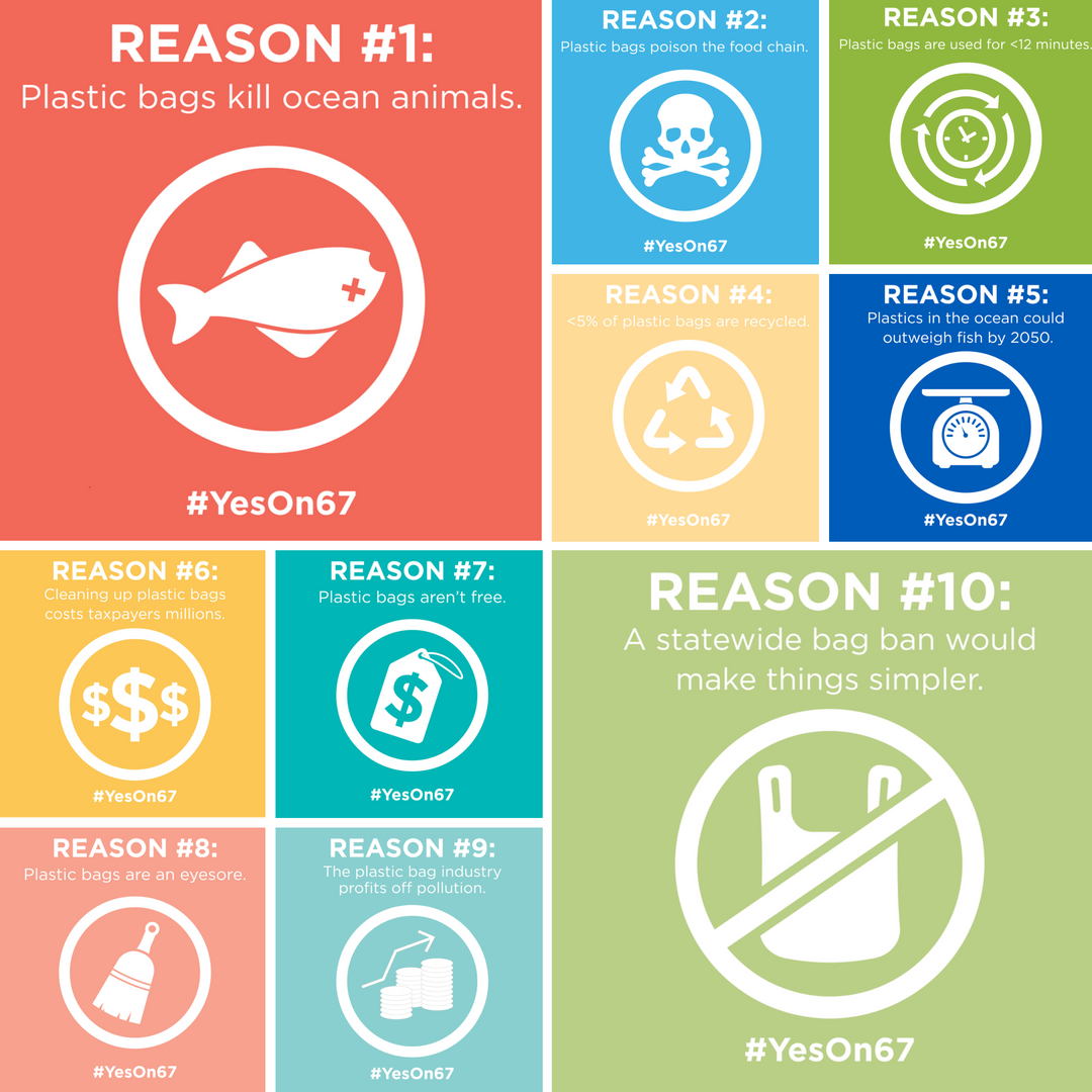 Top 10 Reasons to vote YES on Prop 67!