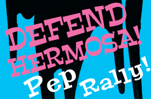 Defend Hermosa Anti-drilling Pop-up Pep Rally