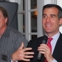 Eric Garcetti, Mark Gold, Heal the Bay