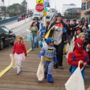 Halloween Parade on the Pier