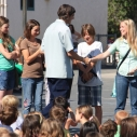 Heal the Bay Mariposa Elementary beach cleanup donation Agoura Hills education