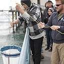 Teaching plankton net use