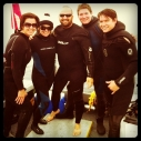 Heal the Bay's Star of Scotland scuba team