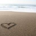 Heal the Bay Thank You Thursday Heart Beach