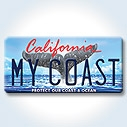 California's redesigned Whale Tail license plate
