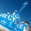 Volunteering at a beach clean up is one way to keep our oceans clean.