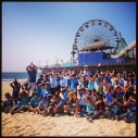 Coastal Cleanup Education Day 2013 Heal the Bay Santa Monica Pier kids sharks
