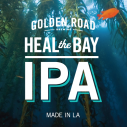 Heal the Bay IPA by Golden Road Brewing in LA