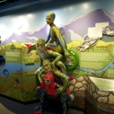 Cirque du Soleil's TOTEM characters explore the Watershed Exhibit