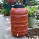 Get your own low-cost rain barrel and help preserve the ocean from urban runoff