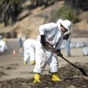Santa Barbara Plains All American Oil Spill at Refugio Beach