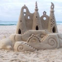 Santa Monica Pier DESIGN PARTNER SANDCASTLE COMPETITION Heal the Bay beach