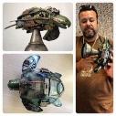 steampunk art plastic litter Claudio Garzon scavenger's manifesto