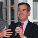 Eric Garcetti roasts Mark Gold