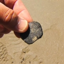tar ball natural oil seeps Santa Monica Bay Dockweiler Beach