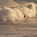 Big Waves in Malibu