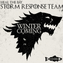 Winter is Coming Game of Thrones Heal the Bay Storm Response Team