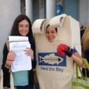 Zola Berger-Schmitz Heal the Bay Volunteer World Oceans Day