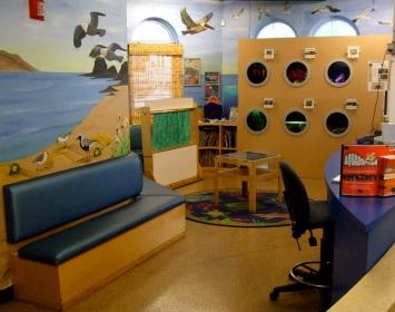 Santa Monica Pier Aquarium Kids Corner