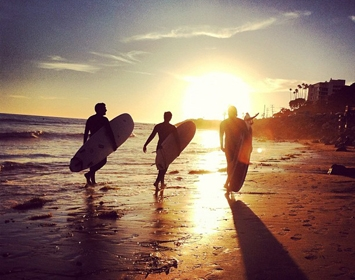 Surf Beach Sunset Heal the Bay Surfers Sun Summer Waves Sand Beautiful