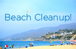 Nothin' But Sand Beach Cleanup at Will Rogers State Beach January 17 2015