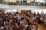 Expected turnout for town hall meeting