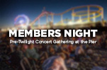 members night twilight concert gathering